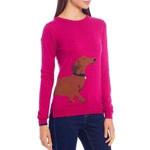 Joules Miranda Dachshund Intarsia Sweater